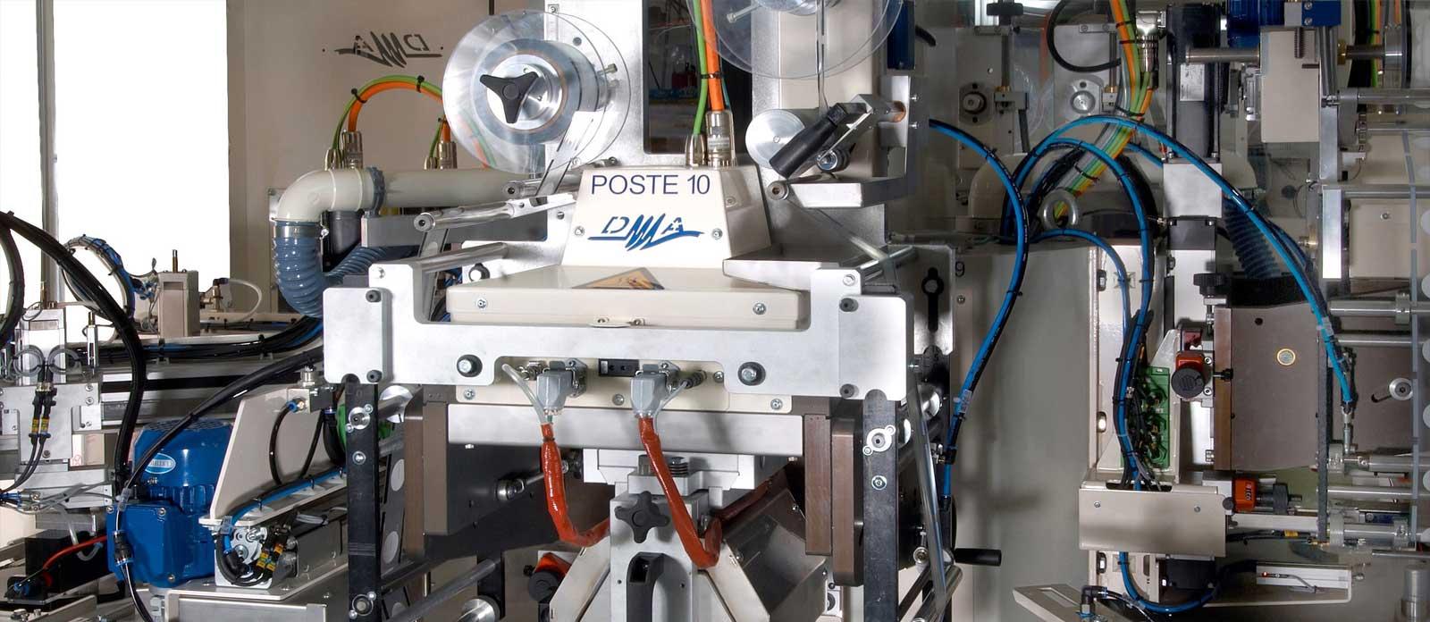 DMA, fabricant de machines spéciales sur mesure