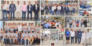 Inauguration de l'extension des locaux de DMA Groupe spécialiste de la conception et fabrication de machines d'assemblage haute cadence et de machines de marquage