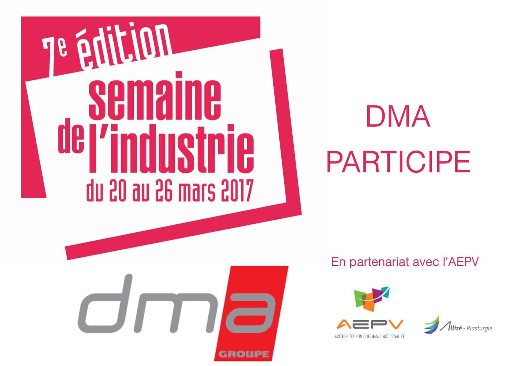 DMA présent à la semaine de l'industrie