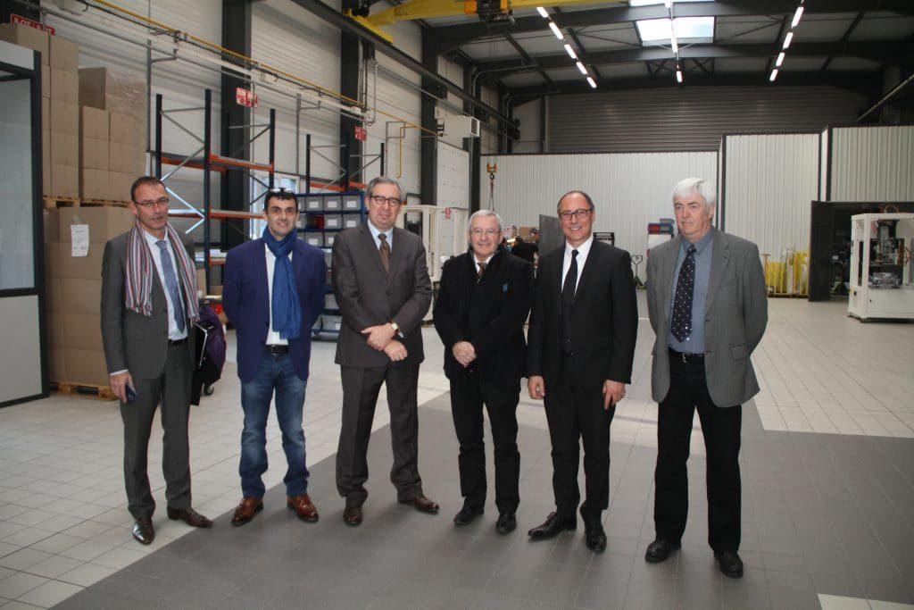 DMA Groupe reçoit le nouveau Préfet de l'Ain, Mr COCHET