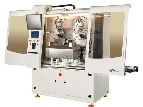 Machine de sérigraphie DMA Machines OF2248 ouverte