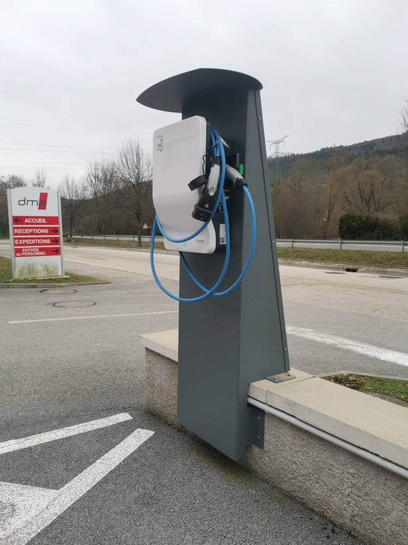 borne voiture electrique DMA