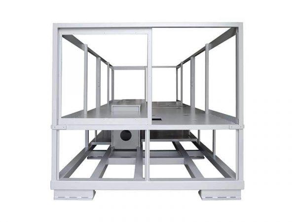 Châssis de machine industrielle réalisé par mécano-soudure