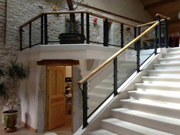 Rampe d'escalier - DML Tôlerie